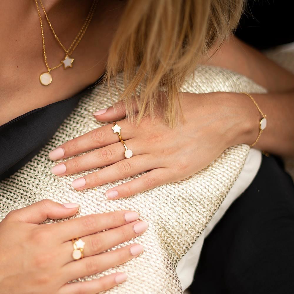 Joma Jewellery Shona Shell - Star Armband