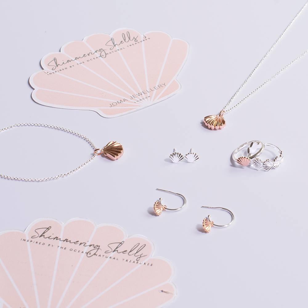 Joma Jewellery Shimmering Shell - Armband