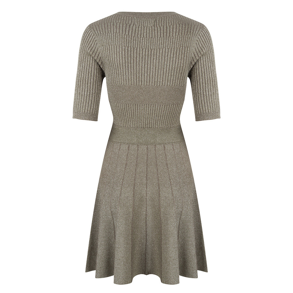 Jacky Luxury Jurk - Knit Khaki