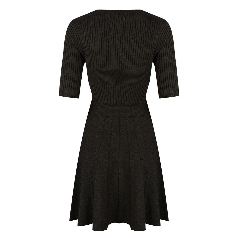 Jacky Luxury Jurk - Knit Zwart