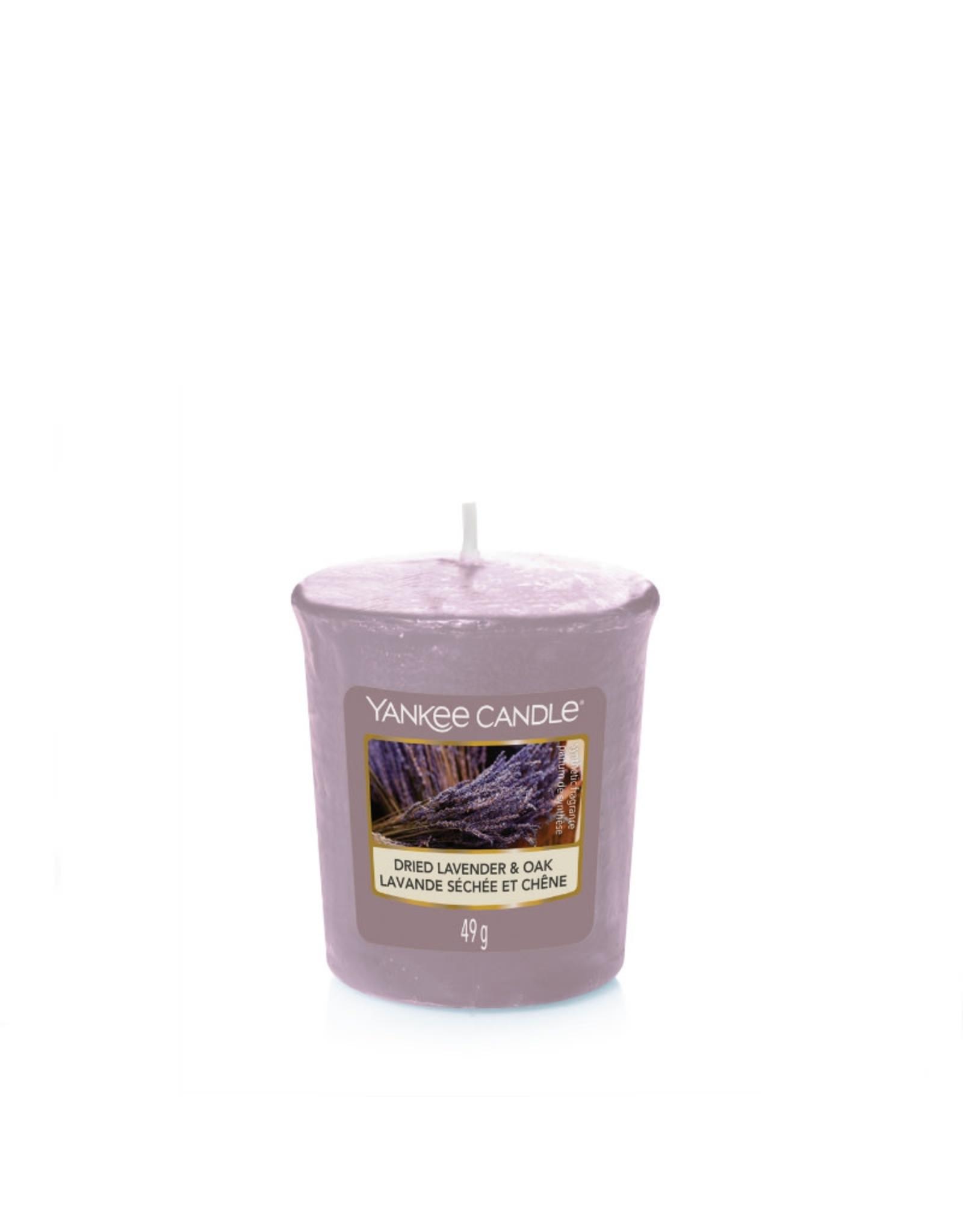 Yankee Candle Dried Lavender & Oak - Votive