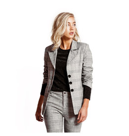 Jacky Luxury Blazer - Check