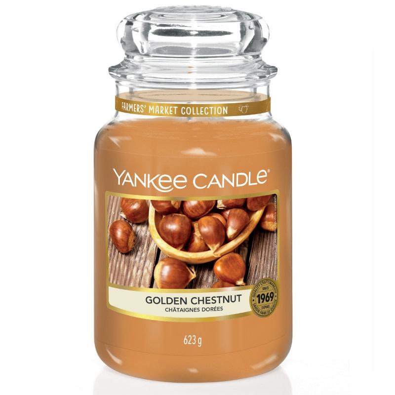 Yankee Candle Golden Chestnut -  Large Jar