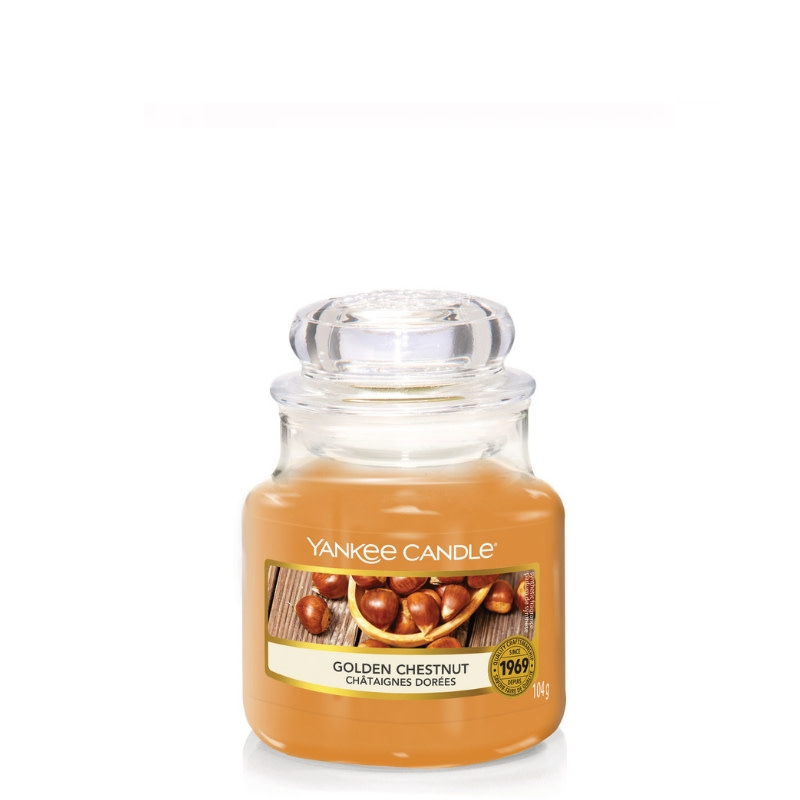 Yankee Candle Golden Chestnut - Small Jar
