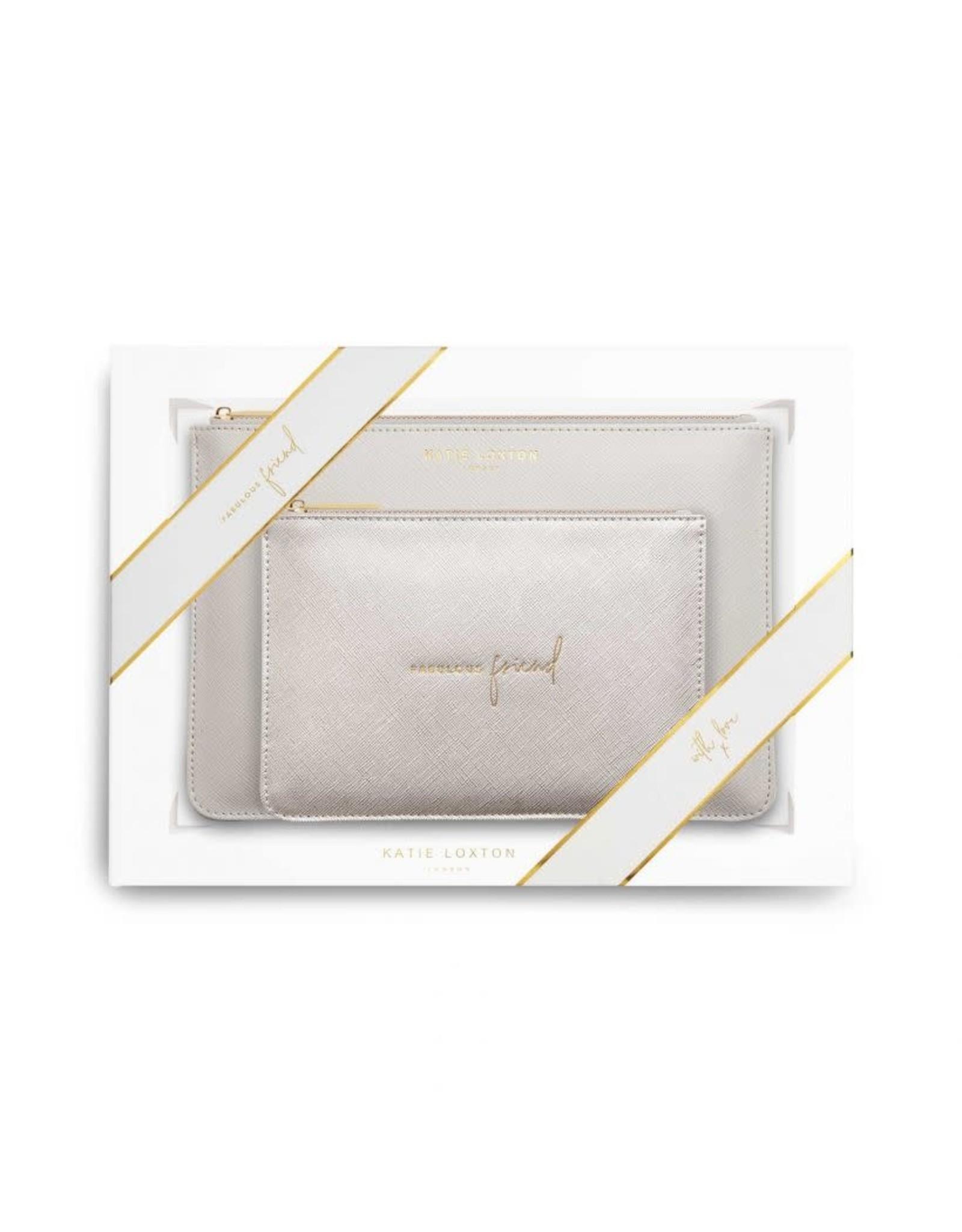 Katie Loxton Perfect Pouch Giftset - Fabulous Friend