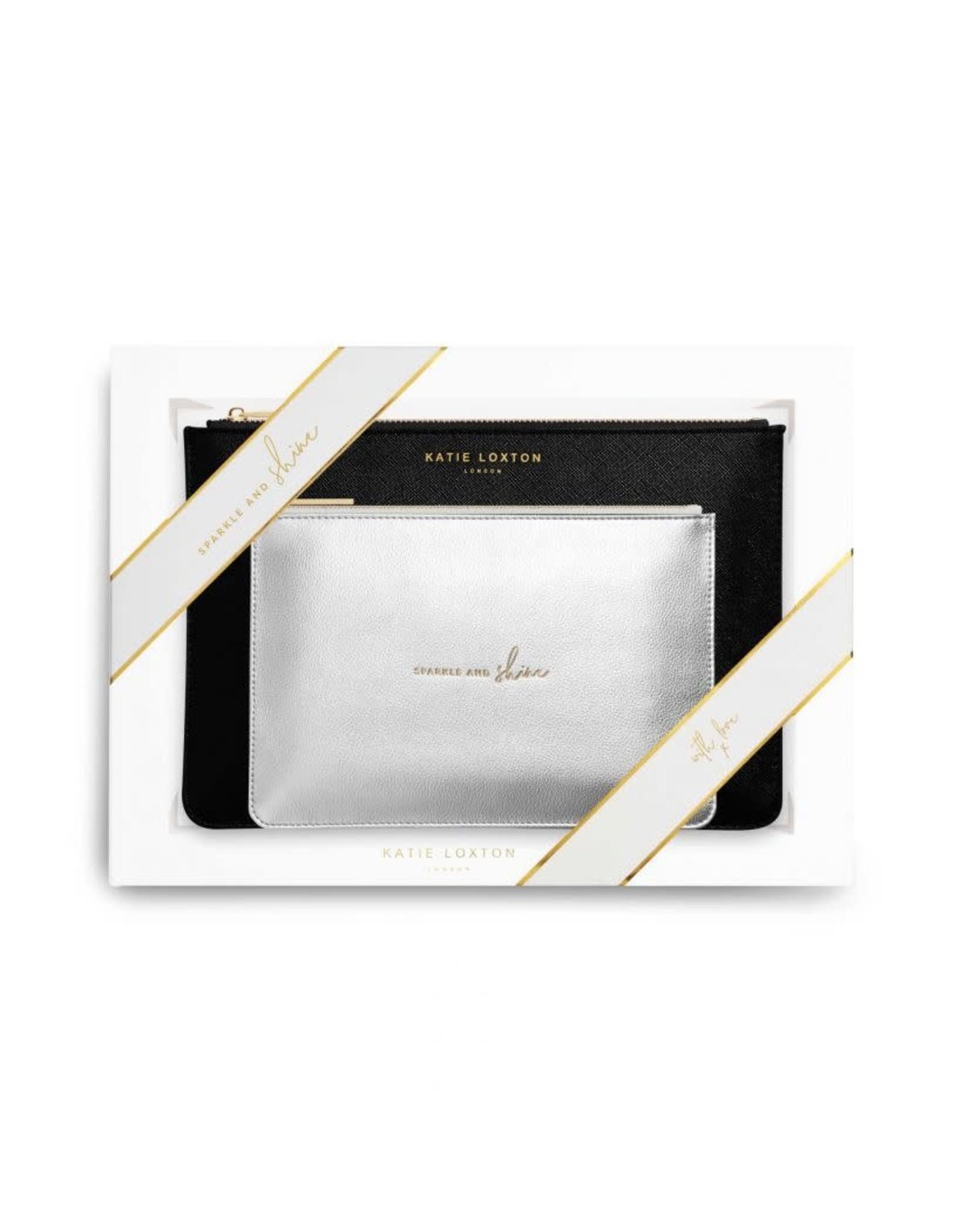 Katie Loxton Perfect Pouch Giftset - Sparkle & Shine