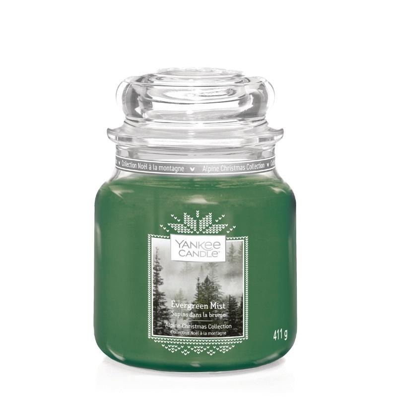 Yankee Candle Evergreen Mist - Medium jar