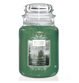 Yankee Candle Evergreen Mist - Large Jar
