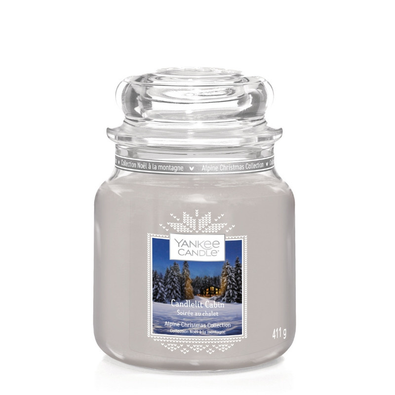 Yankee Candle Candlelit Cabin - Medium jar