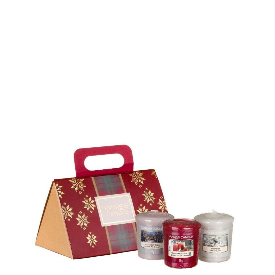 Yankee Candle Alpine Christmas - 3 Votives Purse