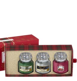 Yankee Candle Alpine Christmas - 3 Small Jars