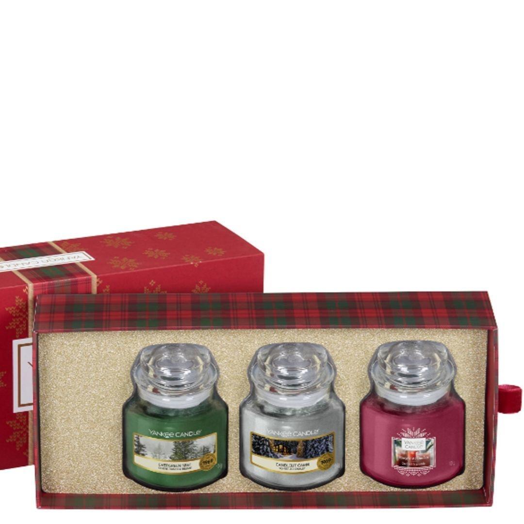 Yankee Candle Alpine Christmas - 3 Small Jars