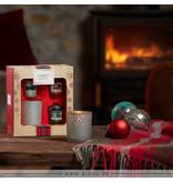 Yankee Candle Alpine Christmas - 3 Votives & Holder