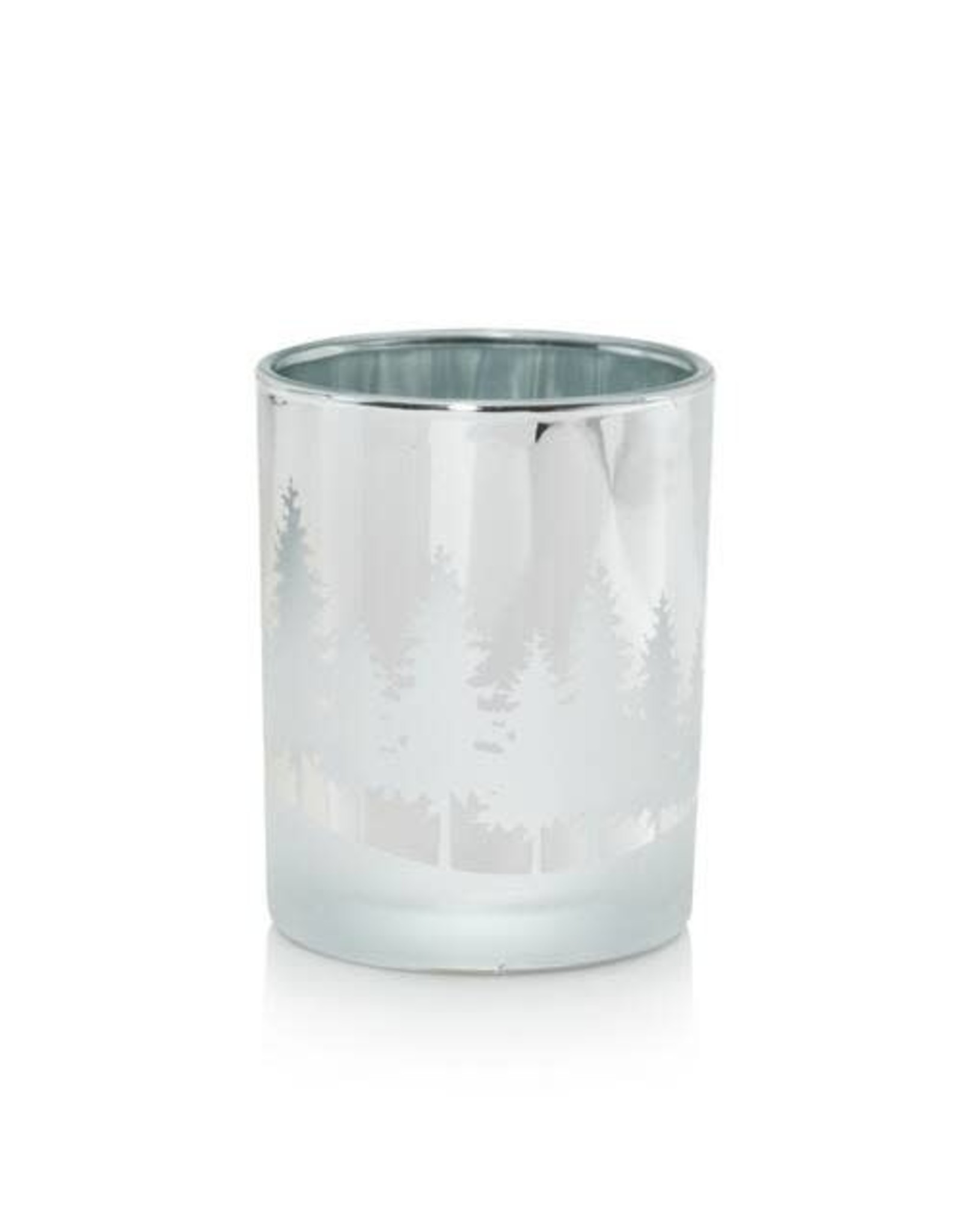 Yankee Candle Winterscape Silver Votive Holder