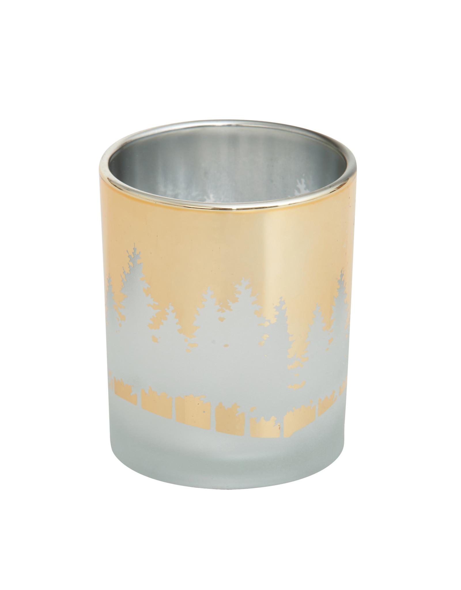 Yankee Candle Winterscape Gold Votive Holder