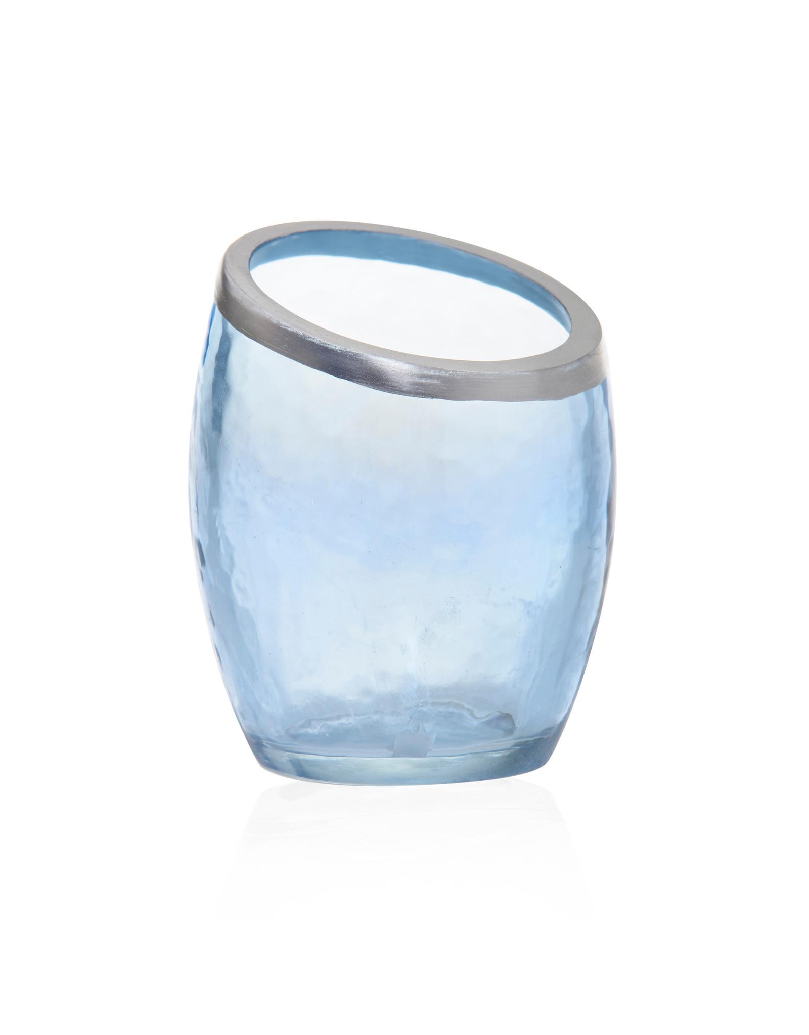 Yankee Candle Pearlescent Blue Votive Holder