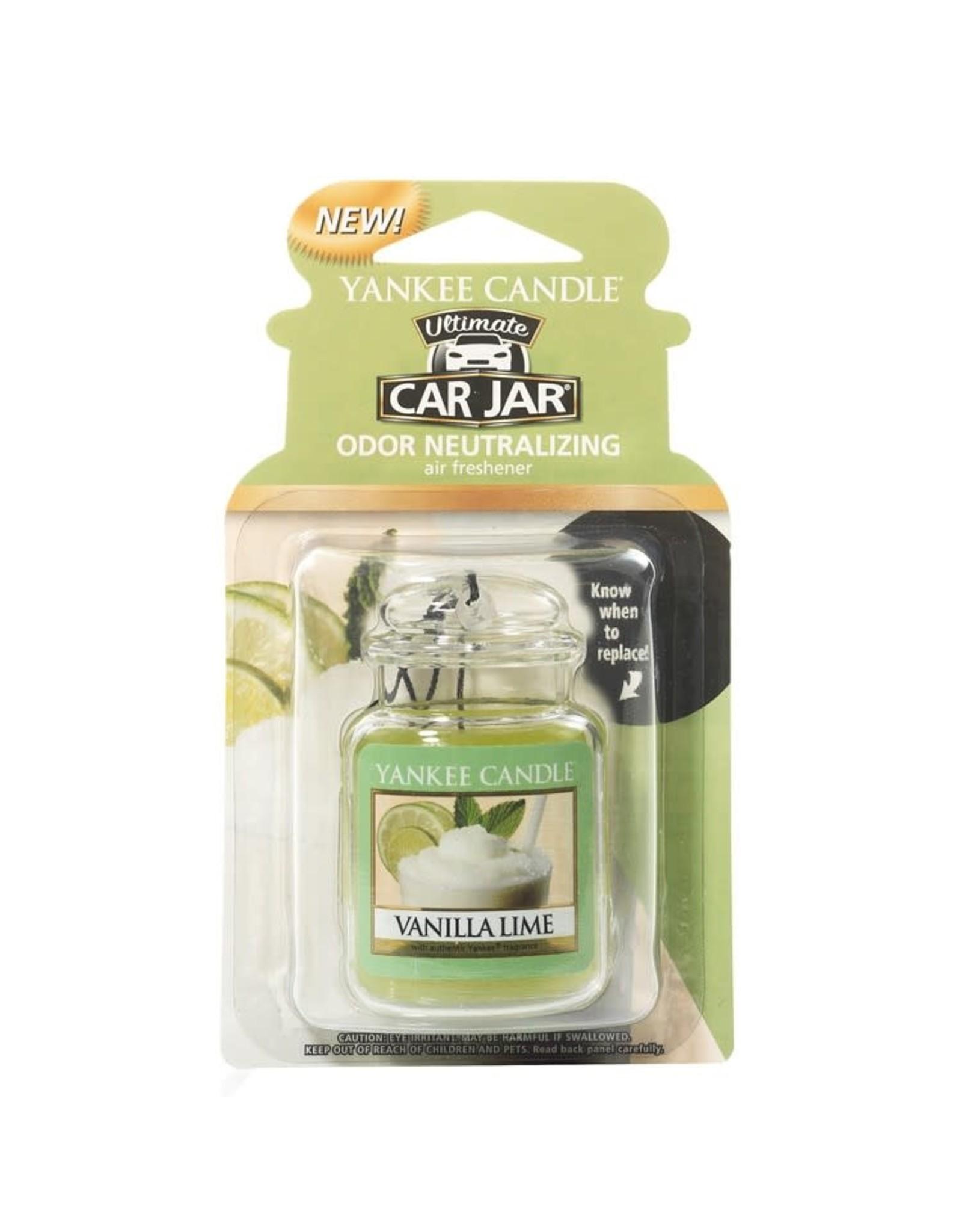 Yankee Candle Vanilla Lime Car Jar Ultimate