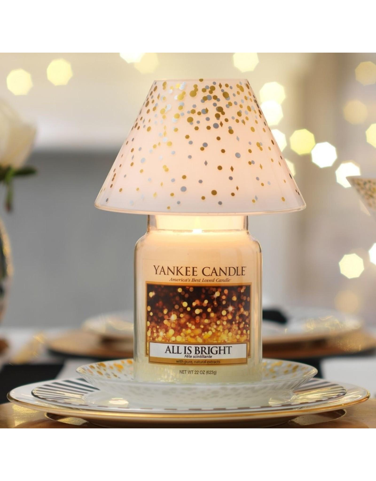 Yankee Candle Holiday Party - Large Shade & Tray