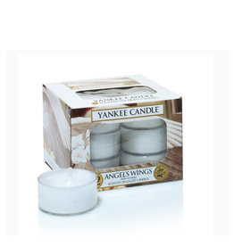 Yankee Candle Angel's Wings Tea Light 12 st