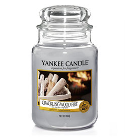 Yankee Candle Crackling Wood Fire Large Jar
