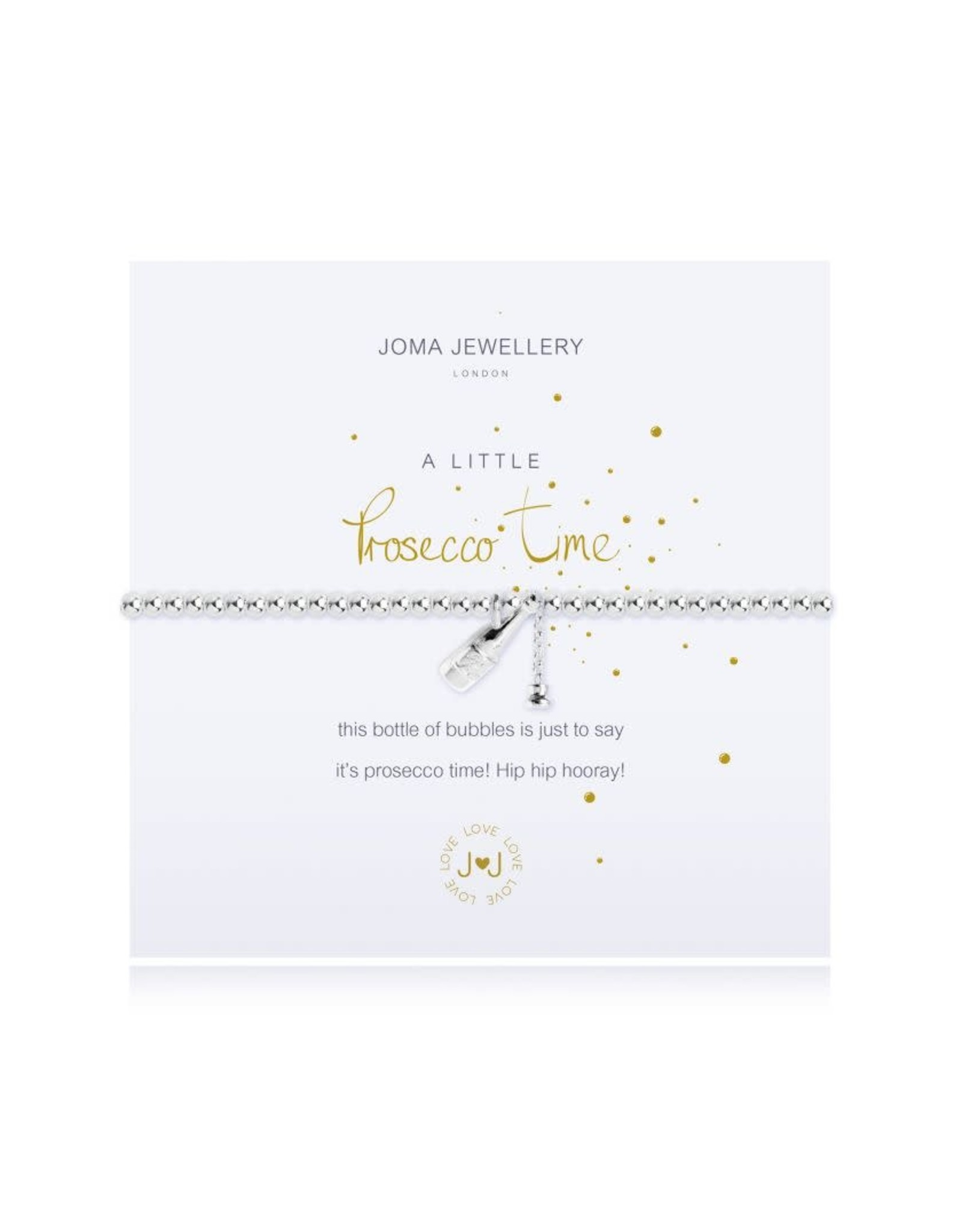 Joma Jewellery A Little - Prosecco Time - Armband Zilver
