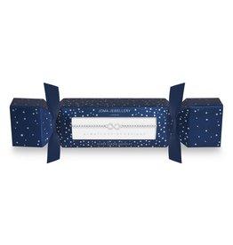 Joma Jewellery Christmas Cracker - Infinity - Armband Zilver