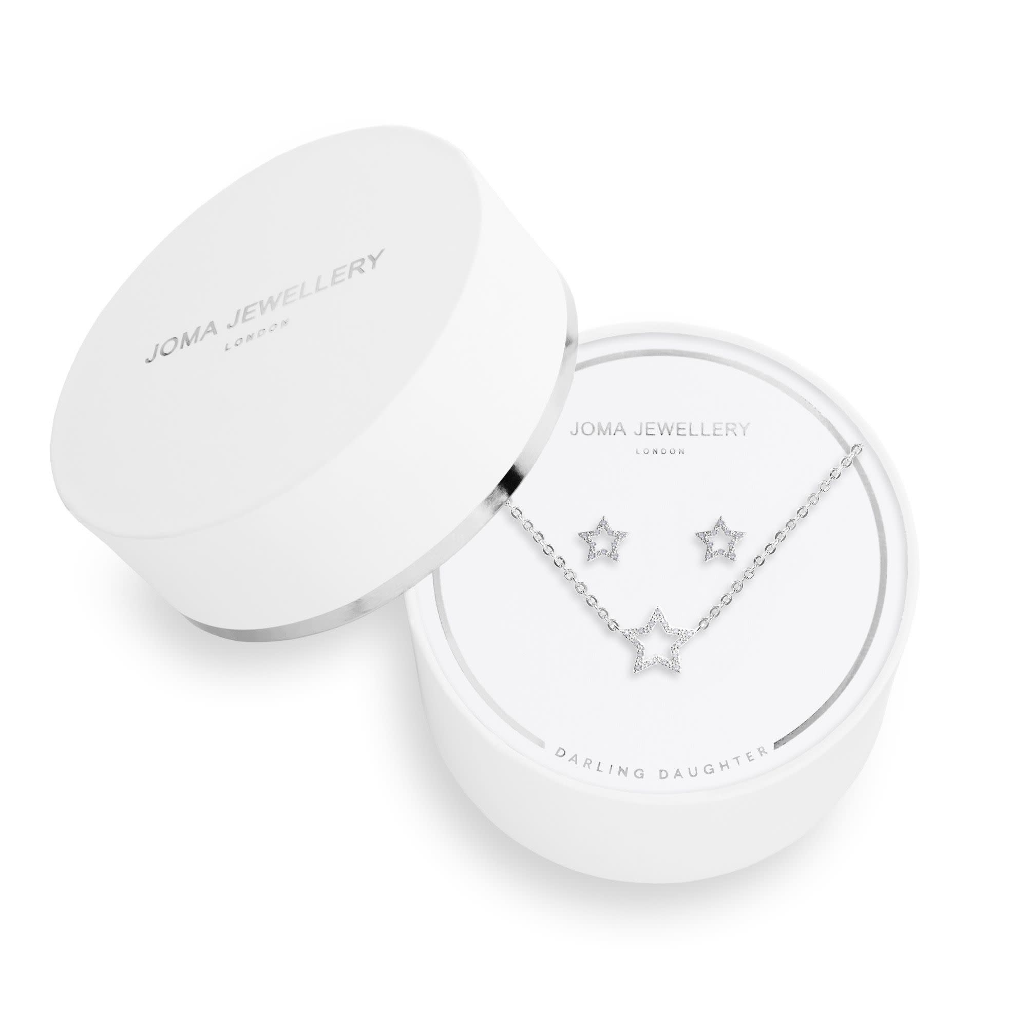 Joma Jewellery Sentiment Set - Darling Daughter