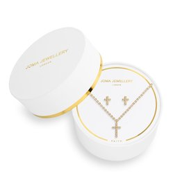 Joma Jewellery Sentiment Set - Faith