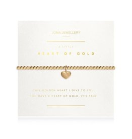 Joma Jewellery A Little Facetted - Heart of Gold