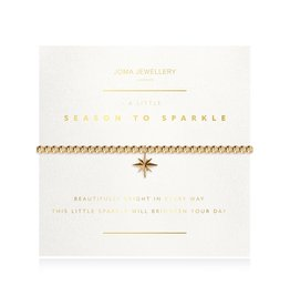 Joma Jewellery A Little Facetted - Season to Sparkle - Armband goud