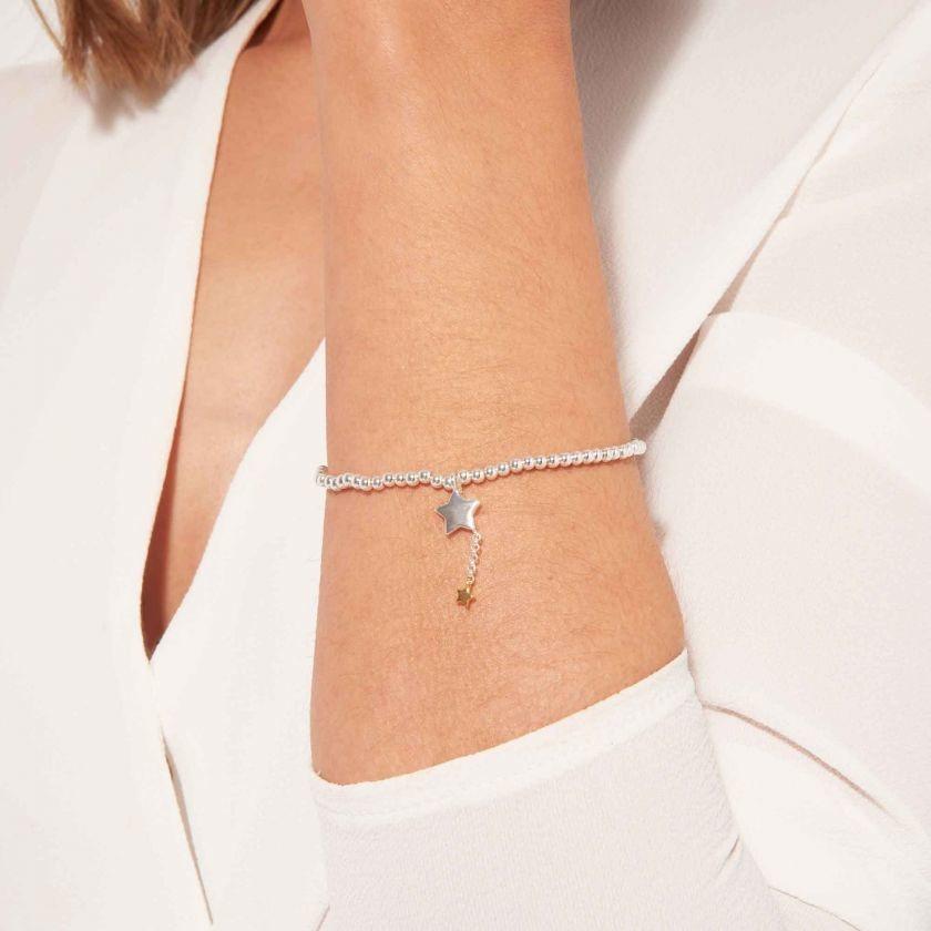 Joma Jewellery A Little - Hip Hip Hooray - Armband Zilver