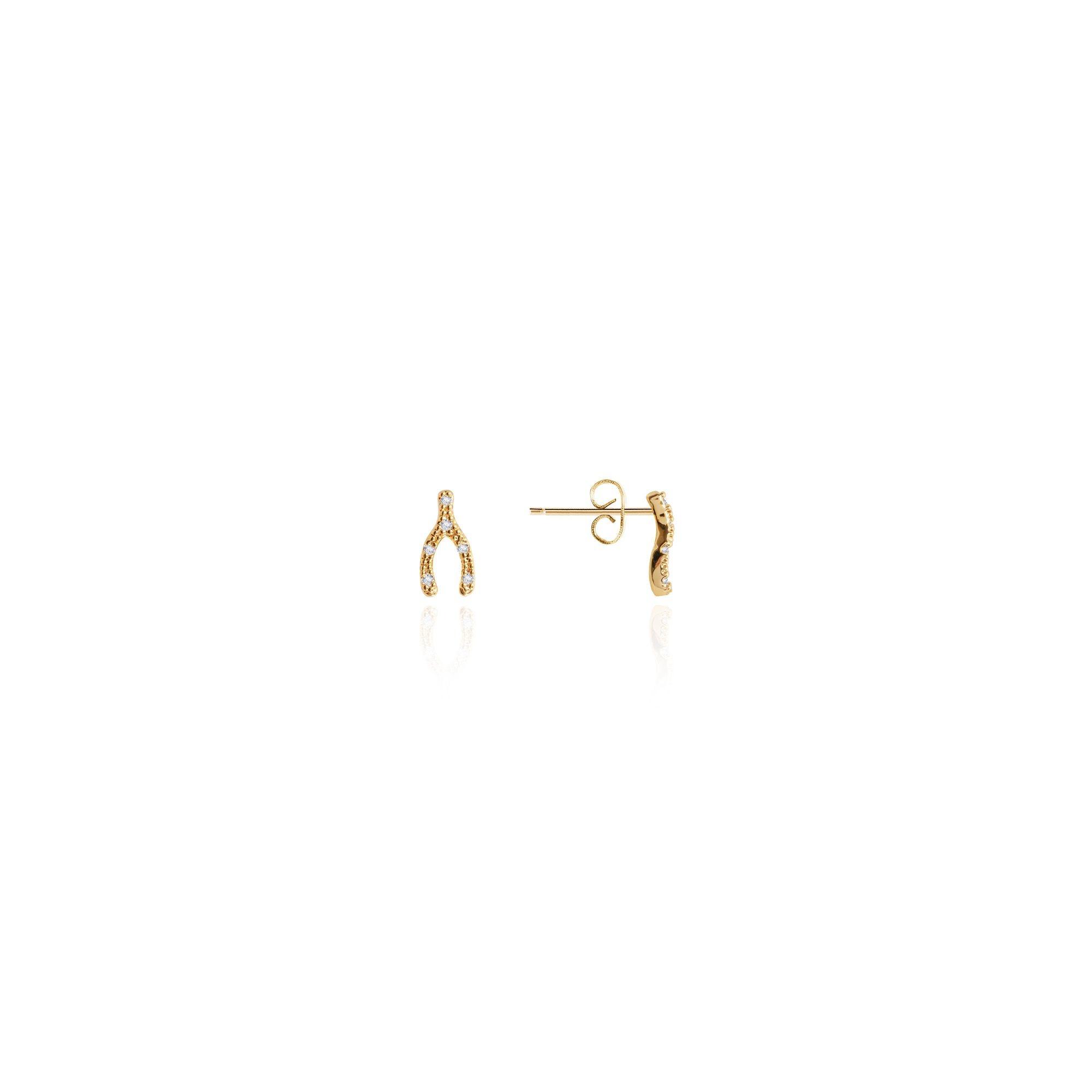 Joma Jewellery Juwelenset - Make a Wish - Ketting & Oorbellen Goud