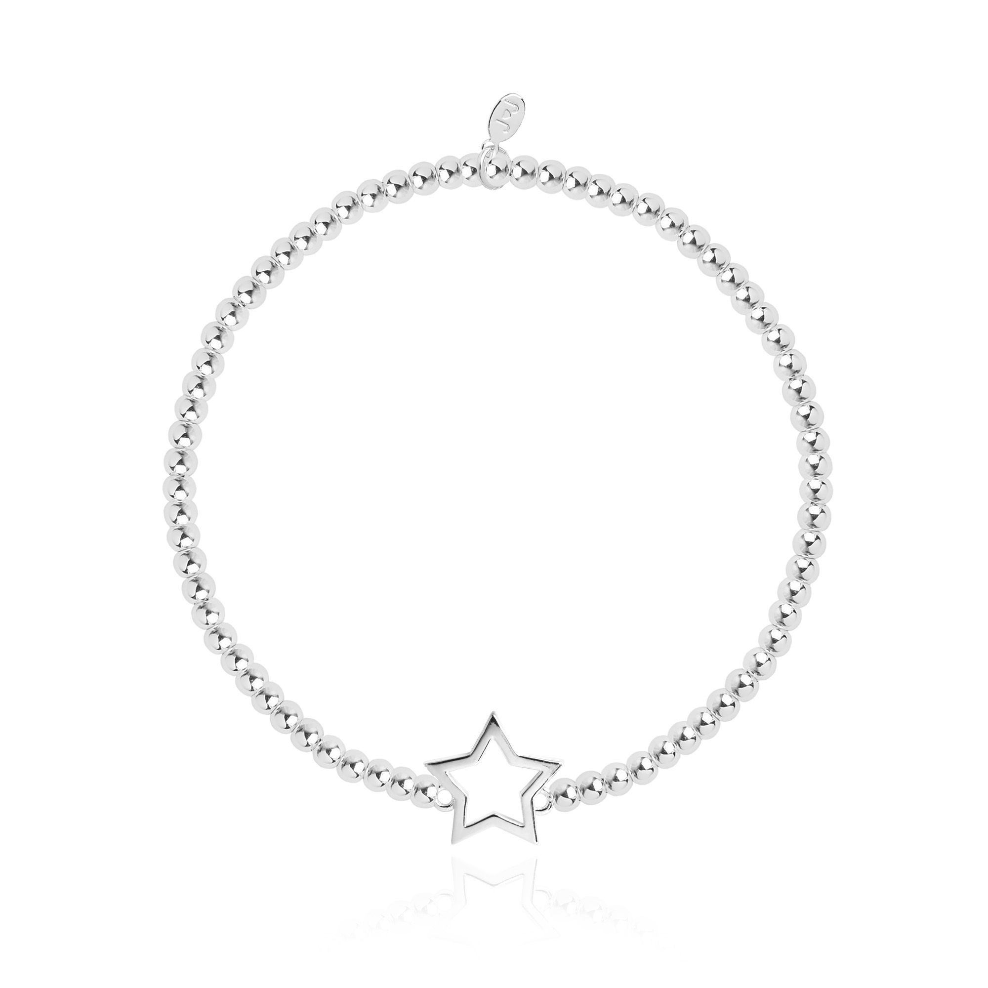 Joma Jewellery Christmas Cracker - Star Silver