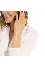 Joma Jewellery A Little - Sparkle - Armband Zilver