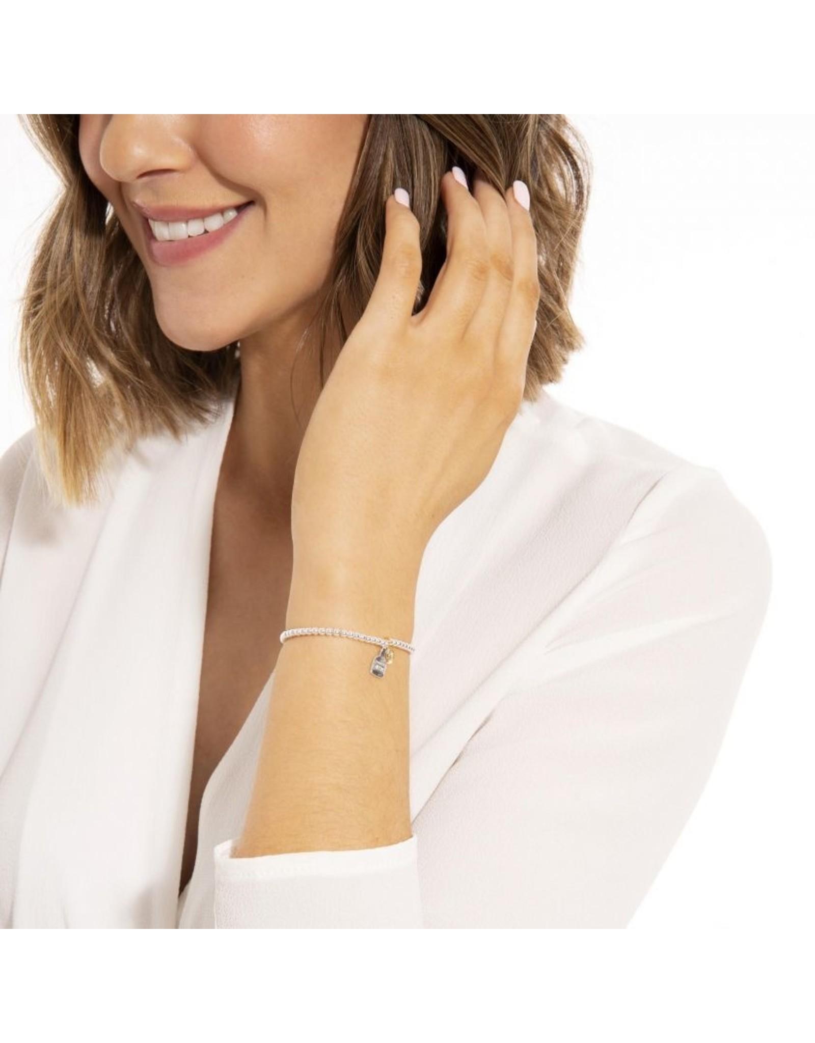 Joma Jewellery A Little - Gin O Clock - Armband Zilver