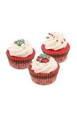 Badefee Giftbox Crèmebad - Cupcake X-mas