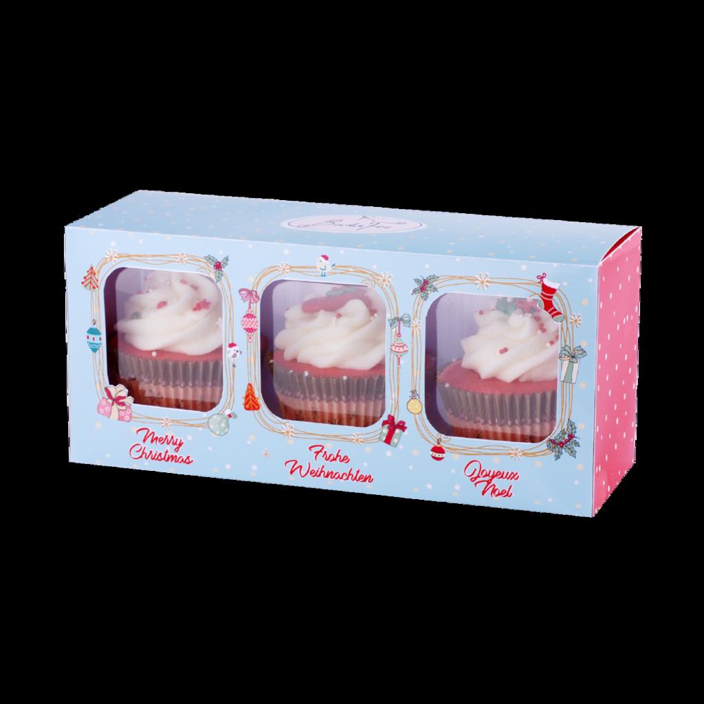 Badefee Giftbox - Cupcake X-mas
