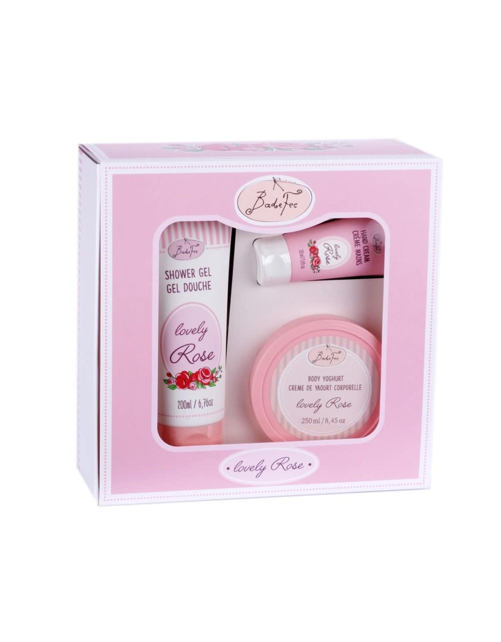 Badefee Giftbox Huidverzorging - Lovely Rose