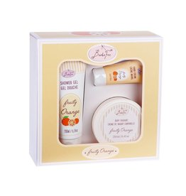 Badefee Giftbox Huidverzorging - Fruity Orange