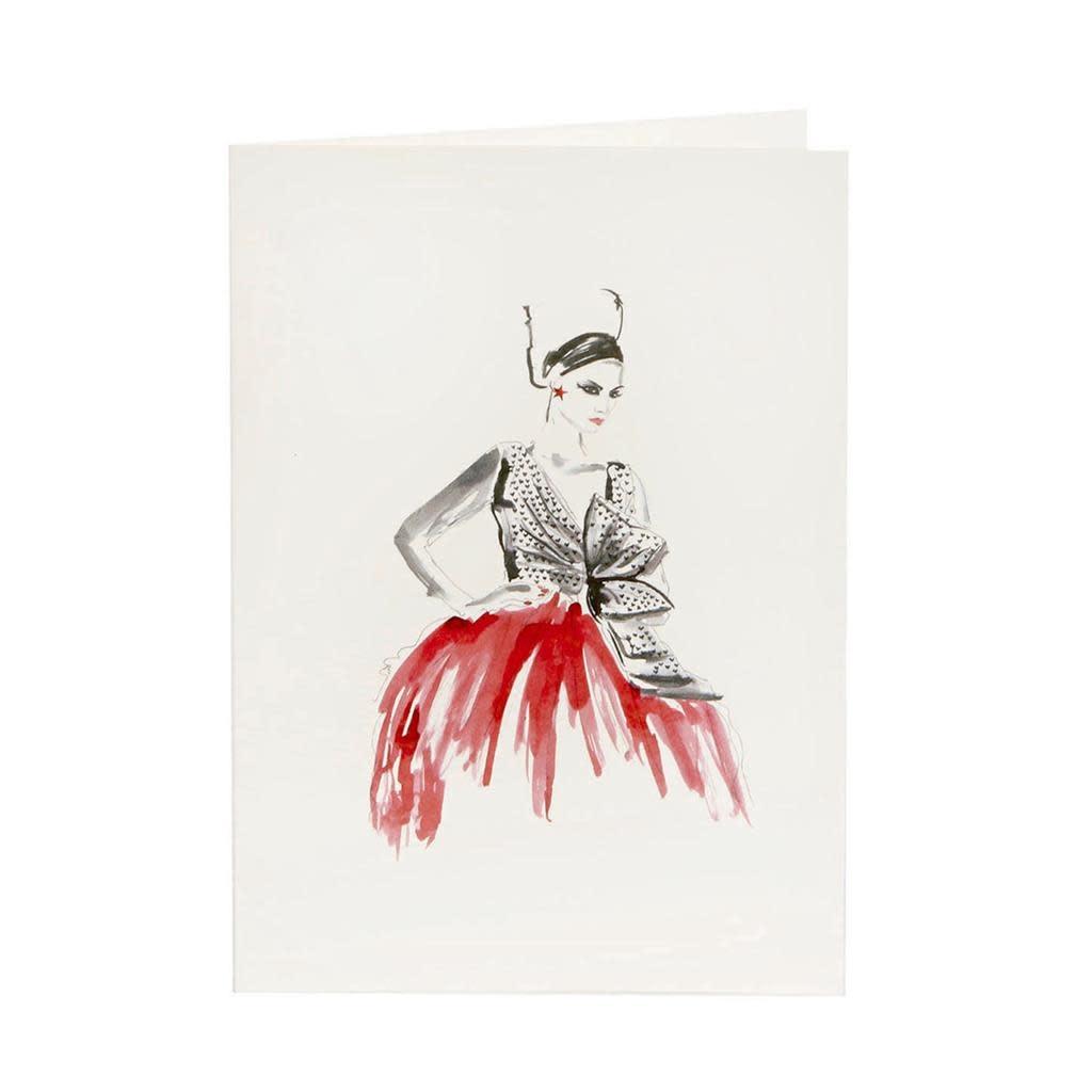 Goodwill Wenskaart - Fashionable Christmas