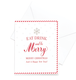 Hearts Design Eat, Drink & be Merry