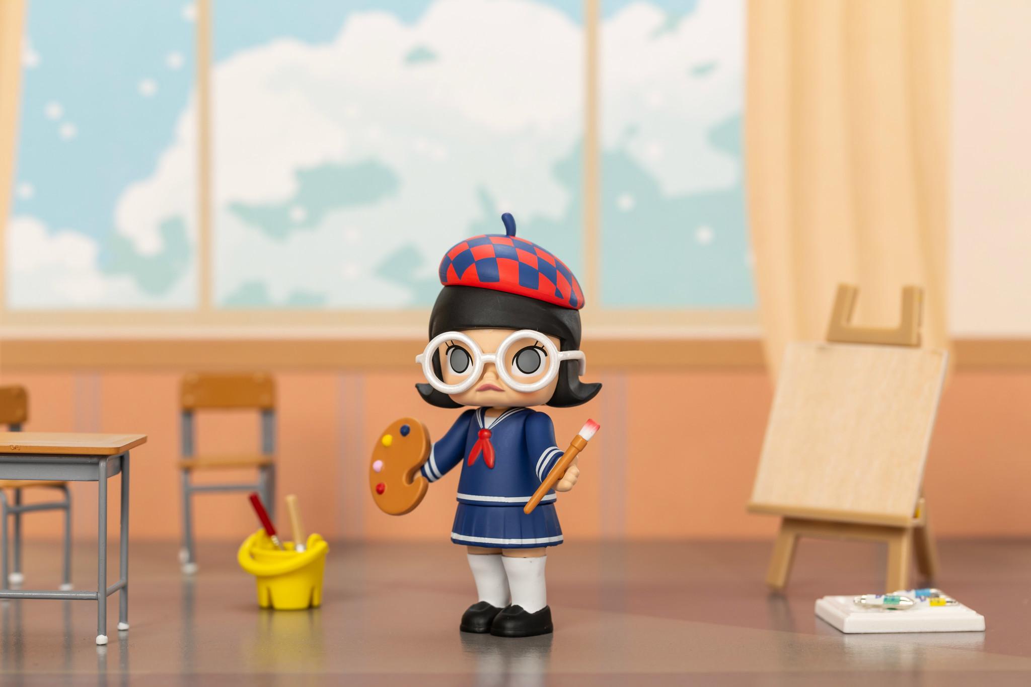 Pop Mart PopMart - Molly School Life
