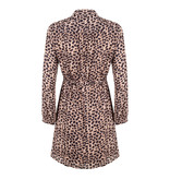 Jacky Luxury Jurk - Button Leopard