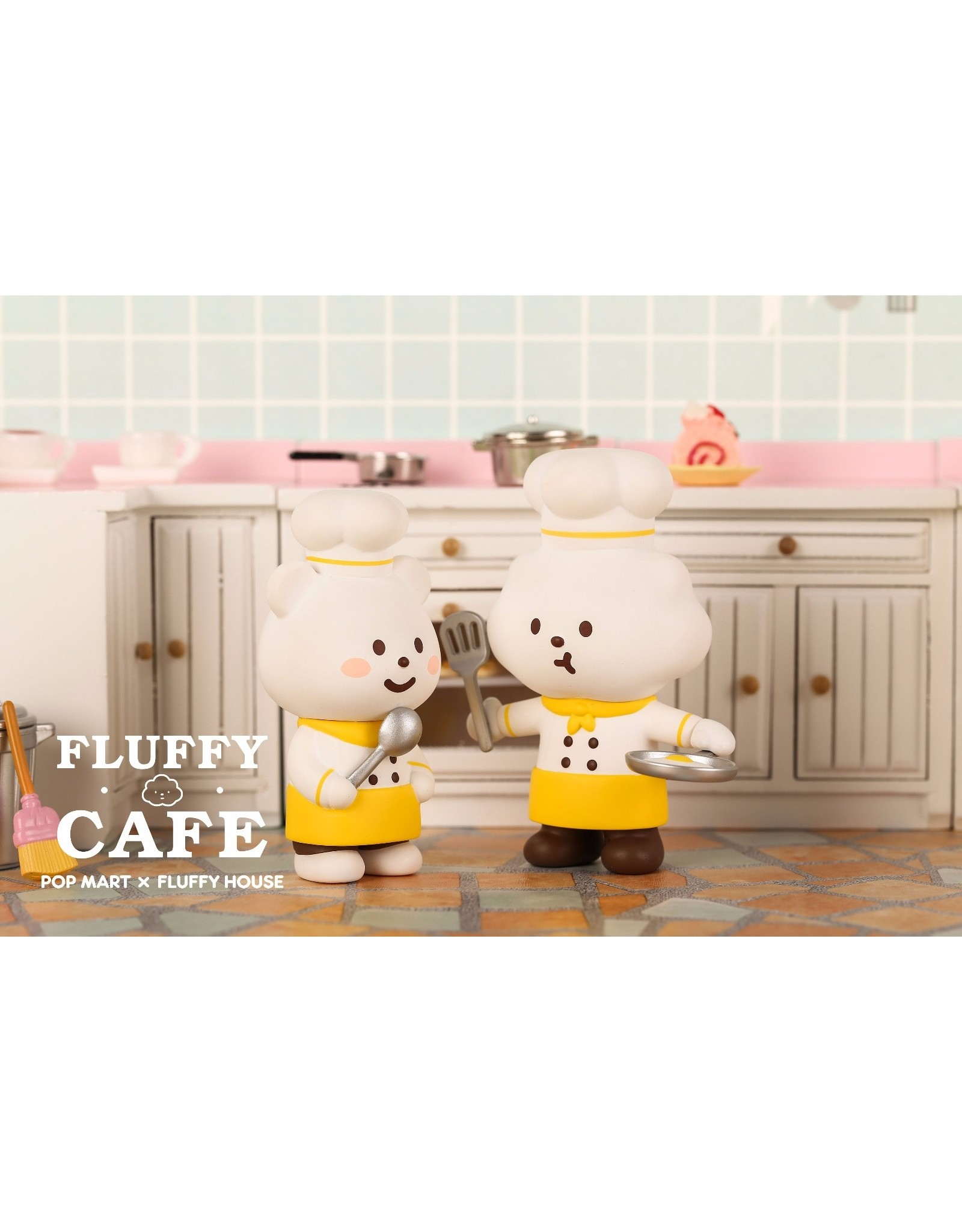 Pop Mart Fluffy - Café