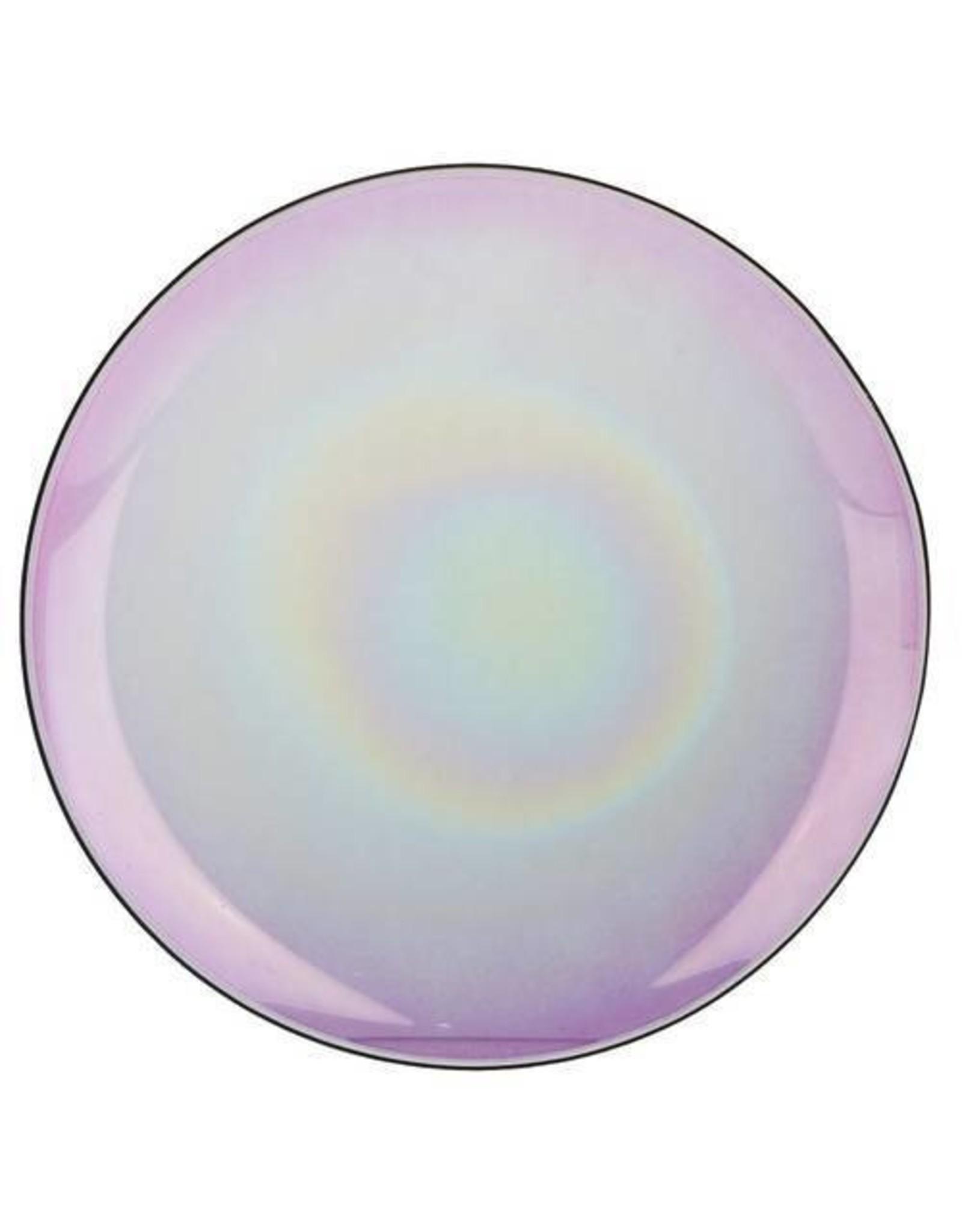 Yankee Candle Savoy - Large Shade & Tray Purple