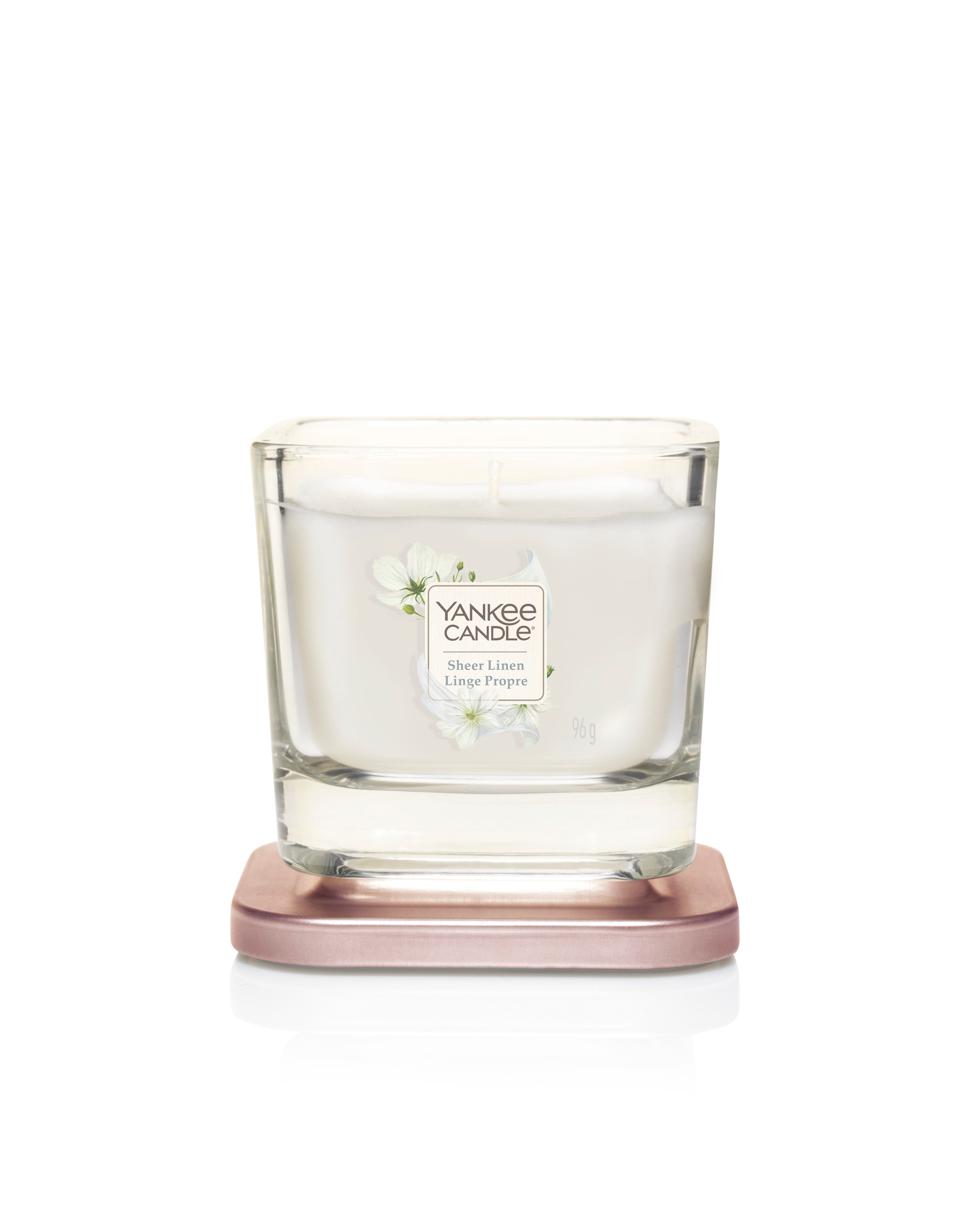Yankee Candle Sheer Linen - Small Vessel