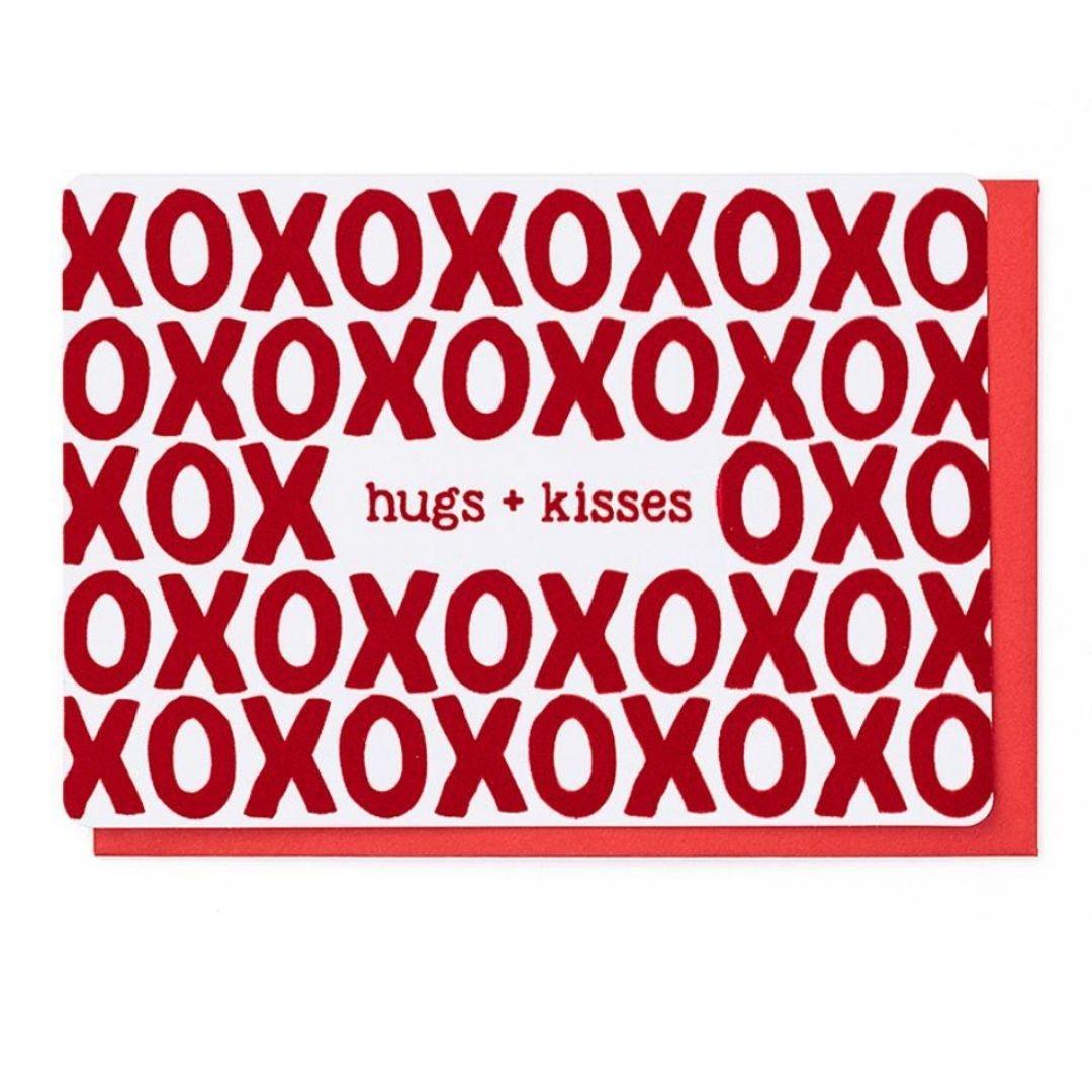Enfant Terrible Wenskaart - Hugs & Kisses