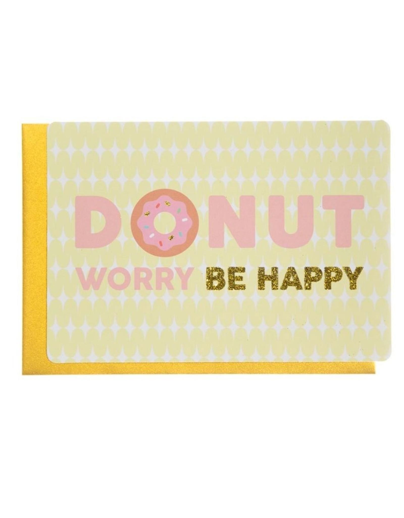 Enfant Terrible Wenskaart - Donut Worry