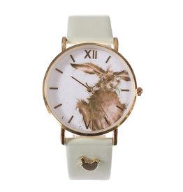 Wrendale Horloge - Hare-Brained