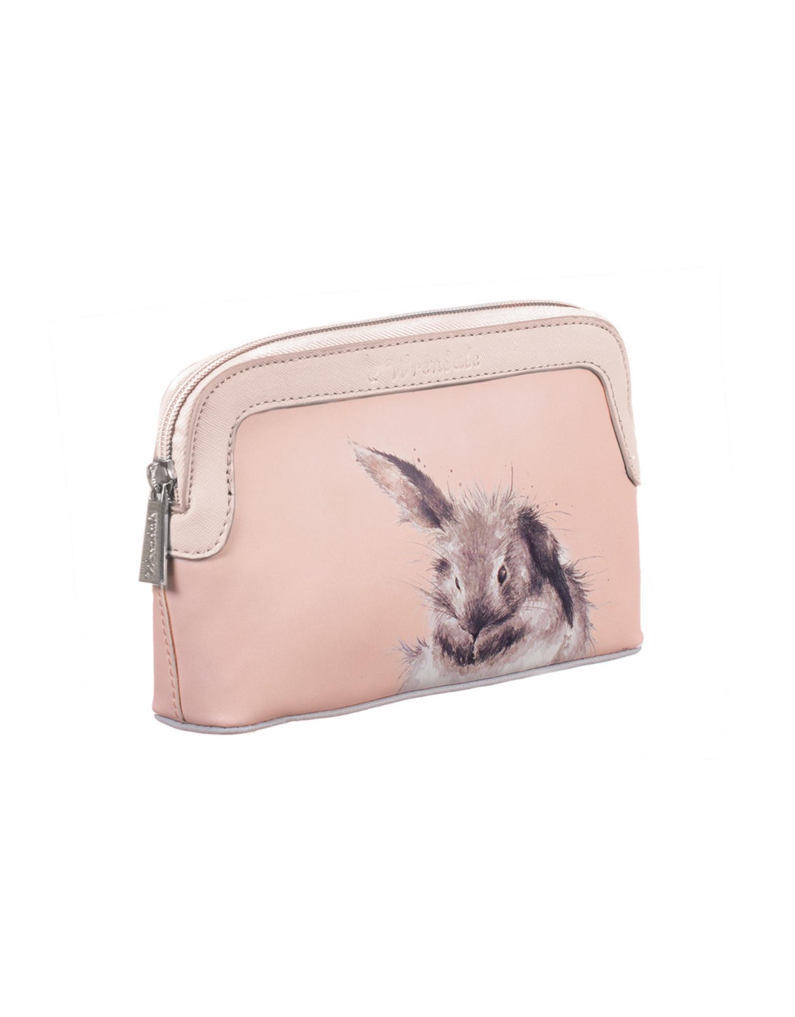 Wrendale Make-uptas - Pink Bunny